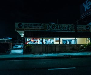 night and street photography image