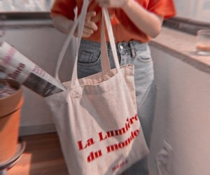 artsy, tote bag, and rp theme image