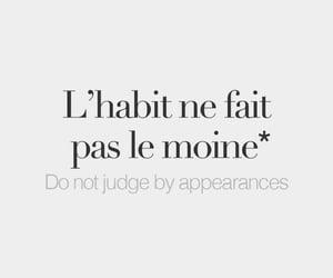 francais, quote, and quelque chose a dire image