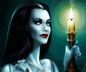 Halloween, art, and goth image
