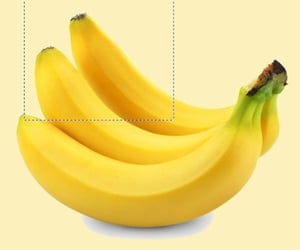 banana, yellow, and icons image