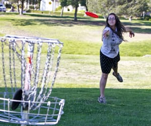 frisbee, sports, and disc golf image