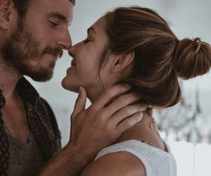 fall in love with, romantic atmosphere, and couples goal image