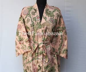bathrobe, etsy, and kimono's image