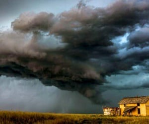clouds, rural, and storm image