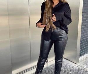 black, black on black, and fashion image