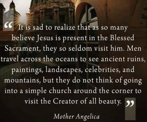 adoration, catholicism, and eucharist image