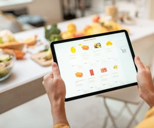 grocery, food delivery app, and groceryappdevelopment image