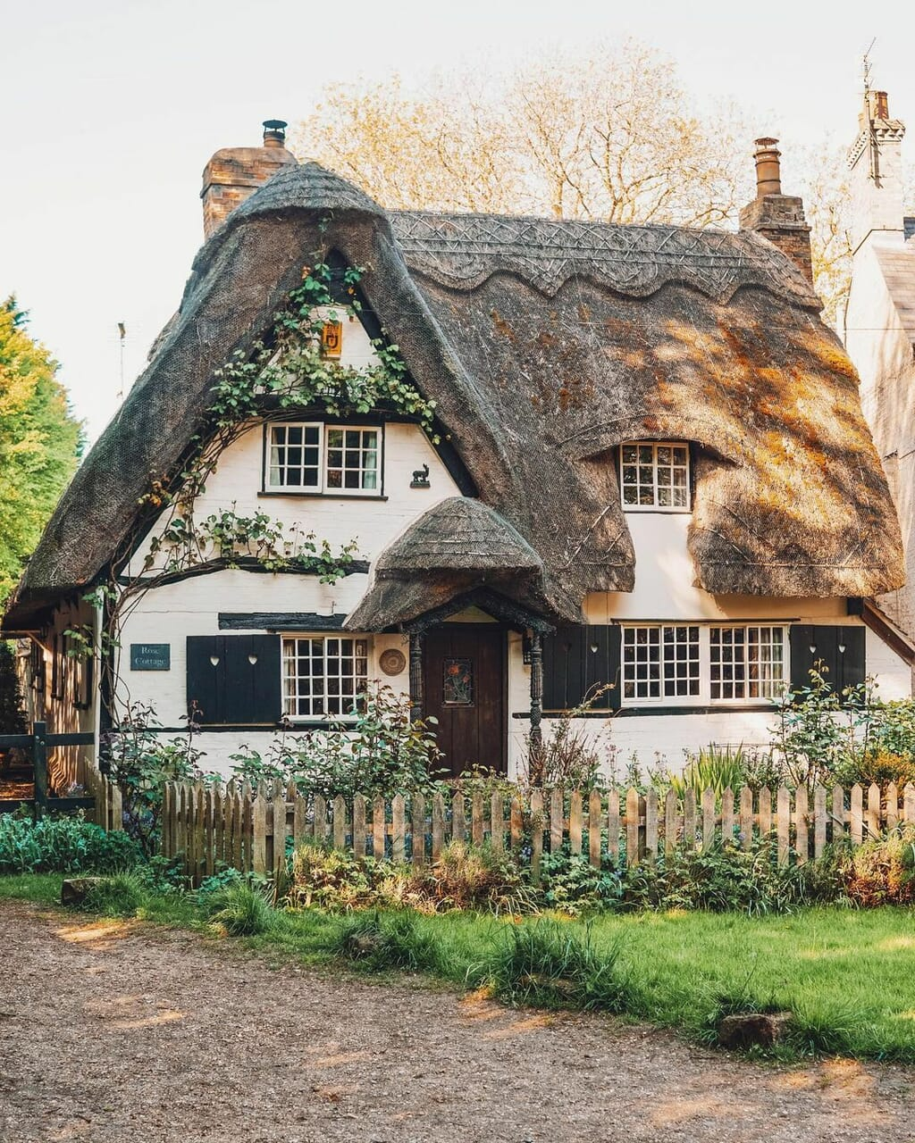 cottage, house, and country living image