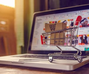 online shopping, online store, and shopping image