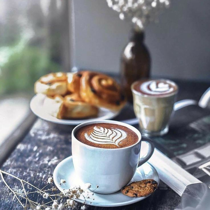 cafe, coffee, and cozy image