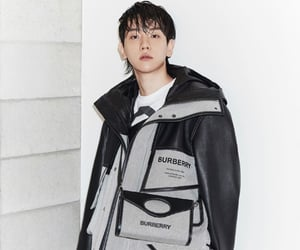 Burberry, Chen, and sehun image