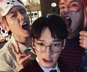 Chen, baekhyun, and xiumin image