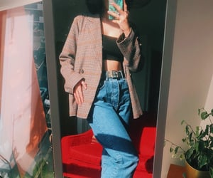 aesthetic, levis, and outfit image