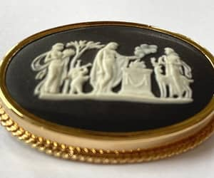 etsy, vintage brooch, and figural brooch image