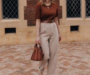 casual, work outfit, and chic image