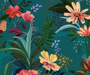 wallpaper, background, and floral wallpaper image