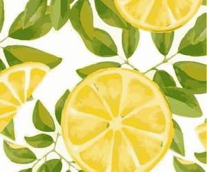 background, FRUiTS, and lemon image