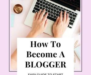 blogger, blogging, and social media image