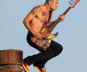 flea and red hot chili peppers image