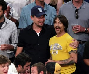 anthony kiedis, leonardo dicaprio, and red hot chili peppers image