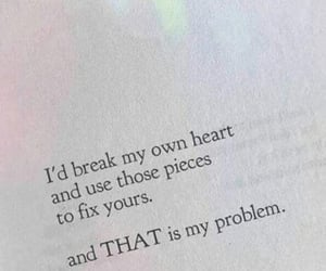 anxiety, broken, and heartbroken image