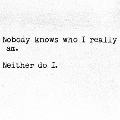 quotes, nobody, and black and white image