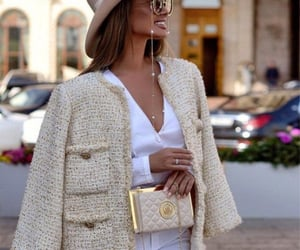 fashion, beige, and chanel image