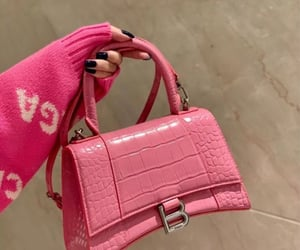 bag, Balenciaga, and pink image