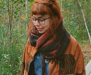autumn, forest, and ginger image