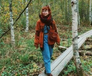 bohemian, boho, and red hair image