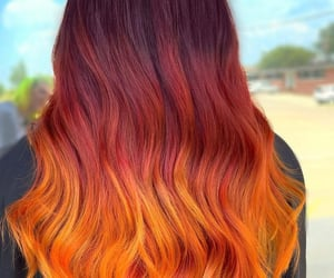 aesthetic, girls, and red hair image