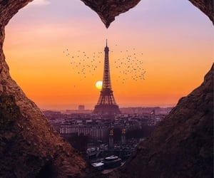 beauty, france, and heart image