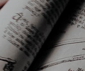 book, grey gif, and aesthetic image