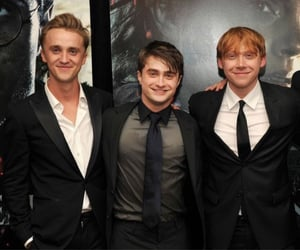 boys, daniel radcliffe, and harry potter image