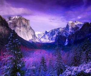 hiking, national parks, and winter image