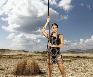 desert, models, and barbara palvin image
