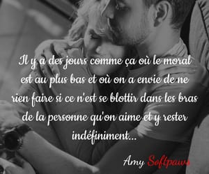 amour, couple, and francais image