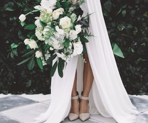 flowers, marriage, and wedding image