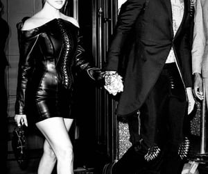 black and white, celebrities, and fashion image