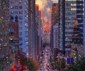 city, san francisco, and lights image
