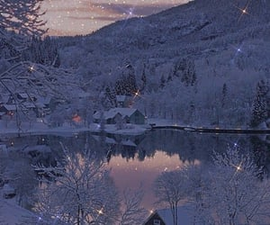 aesthetic, dreamy, and snow image