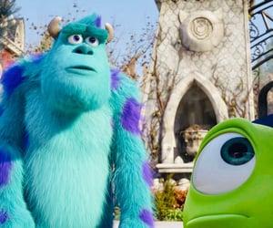 disney, pixar, and monsters university image