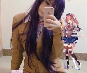 anime, cosplay, and monika image