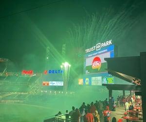 baseball, fireworks, and event image