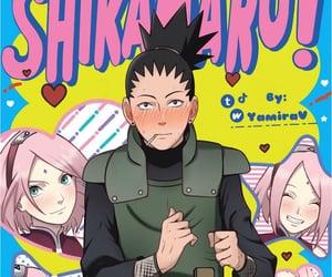 naruto, shikamaru, and shikamaru nara image