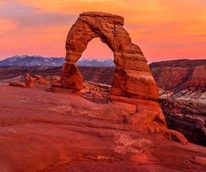 canyon, desert, and nature image