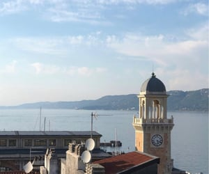 italy, terrace, and trieste image