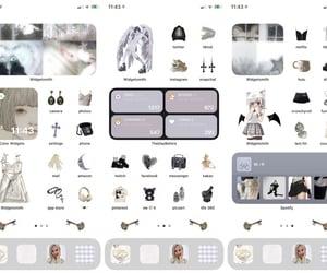 aesthetic, dark academia, and ios 14 image