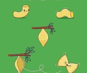 arte, humor, and pasta image